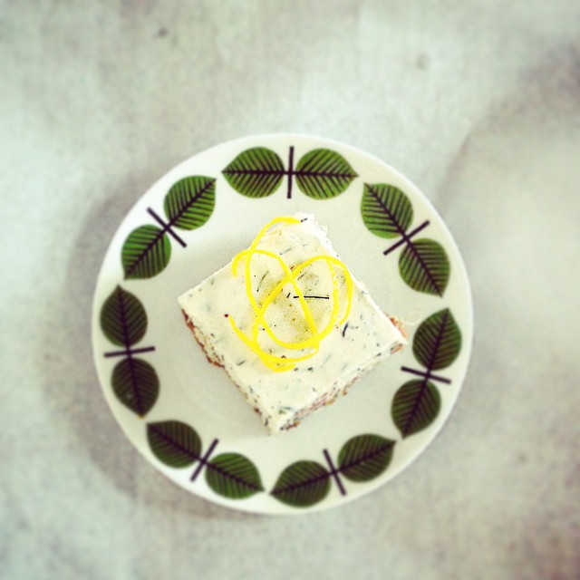 Lax cheese cake med dill & citron, pris/st